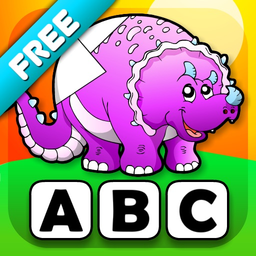 Abby - Preschool Shape Puzzle - Dinosaurs icon