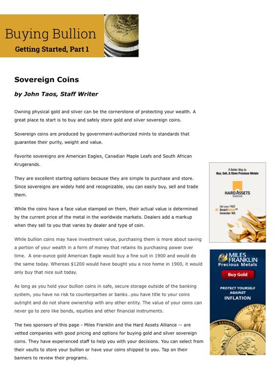 Gold & Silver Investors Digest screenshot-3