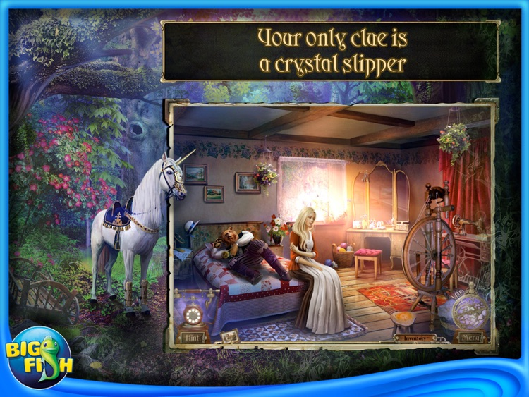 Detective Quest: The Crystal Slipper HD - A Hidden Object Adventure