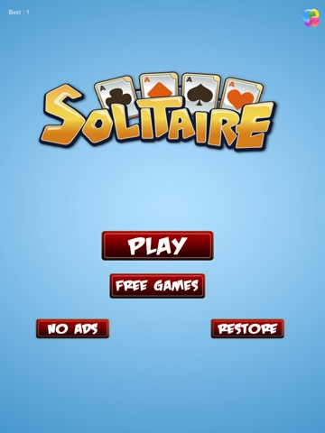 Ace Classic Solitaire: Free Cards Klondike-ipad-0