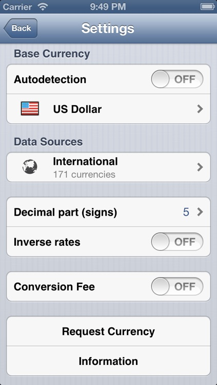 CurrencyGo: Currency Exchange Rates Converter with Multiple Sources screenshot-4