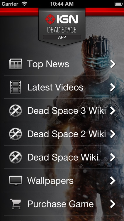 IGN App For Dead Space 3