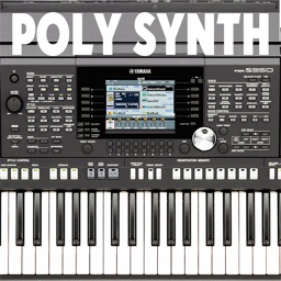 Polyphony synthesizer with a low delay (low latency musical synth) and distortion HD version