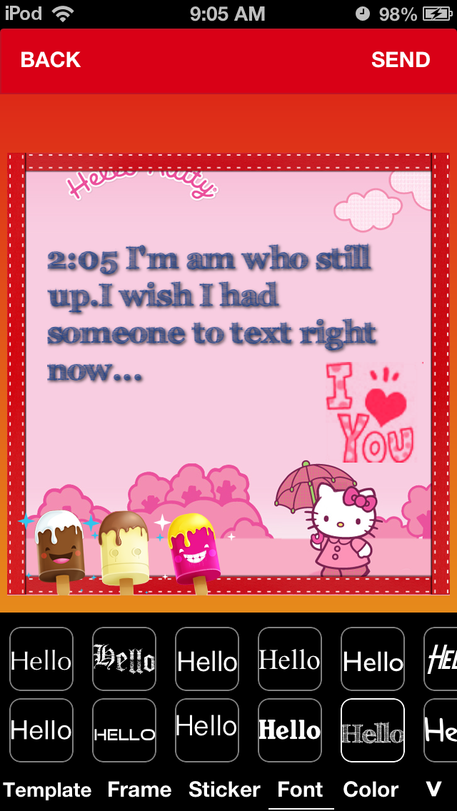 TextPic - Texting with Pic-1