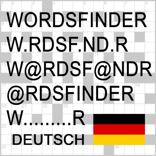D Words Finder Deutsch/German PRO - find the best words for crossword, Wordfeud, Scrabble, cryptogram, anagram and spelling