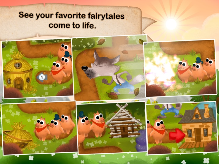 Fairytale Maze 123 - Fun learning with Children animated puzzle game screenshot-3