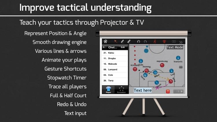 CoachNote : Sports Coach's Interactive Whiteboard