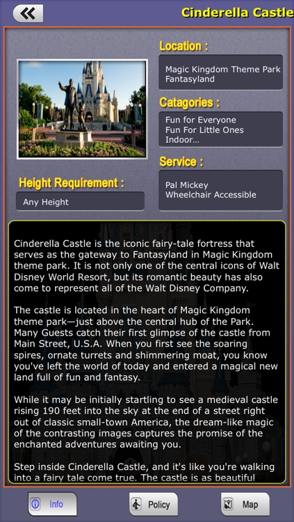 Offline Travel Guide Disney World screenshot-3