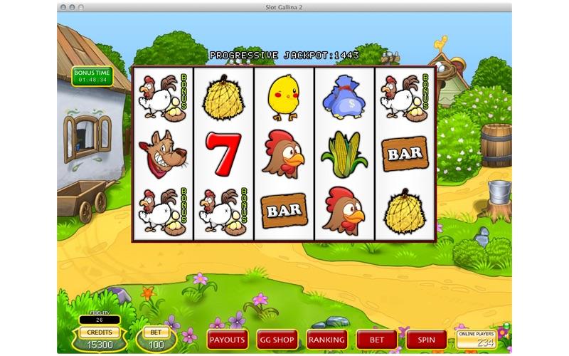 Slot Gallina 2 screenshot 2