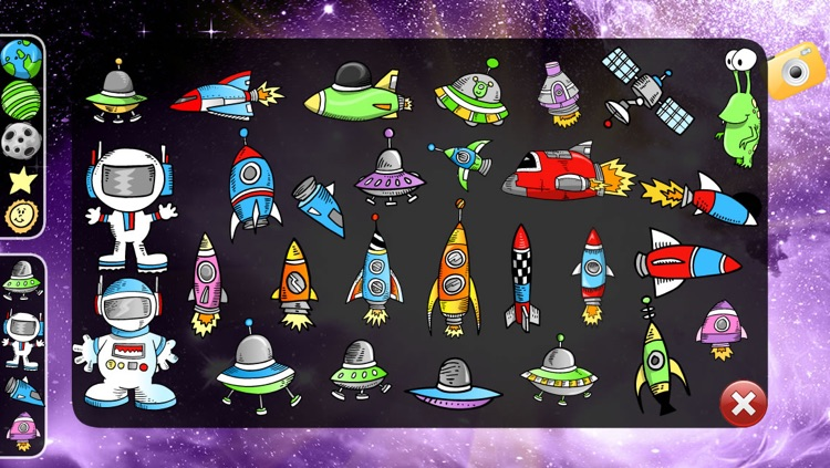 Space Play Set for Kids