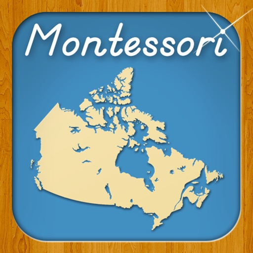 Provinces & Territories of Canada - A Montessori Approach to Geography HD
