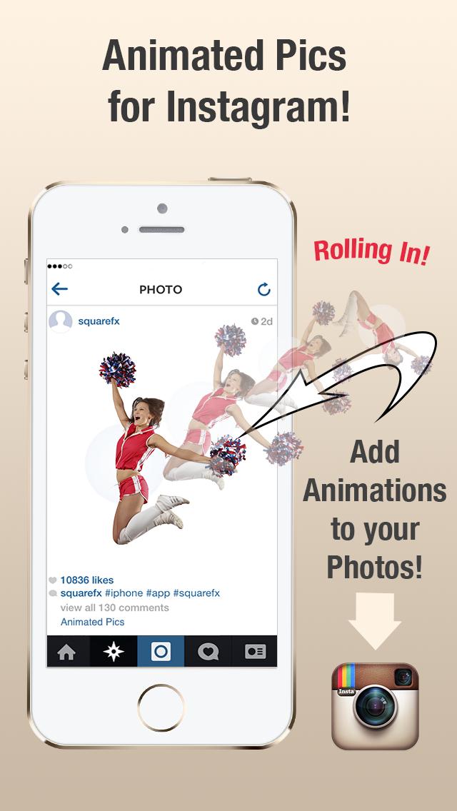 AnimatedPics - Create Animation & Watermark for Instagram screenshot