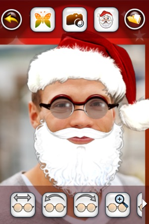 Santa claus booth make yourself santa free en app store capturas de pantalla del iphone solutioingenieria