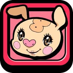 よくばりランニング~可愛いキャラクターと一緒にダイエットができる女の子運動応援アプリ by 江崎グリコ~
