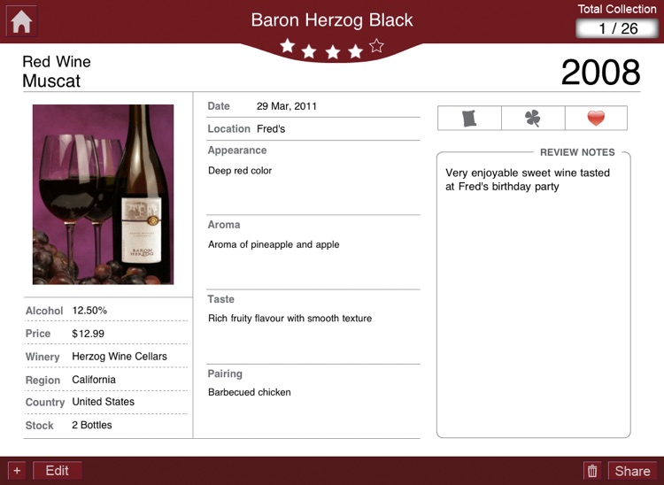 Wine Journal+ Professional Wine Log for Wine En... screenshot-4