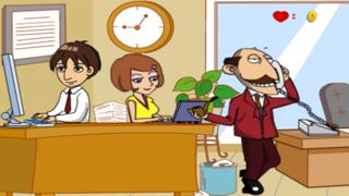 Office Kissing screenshot four