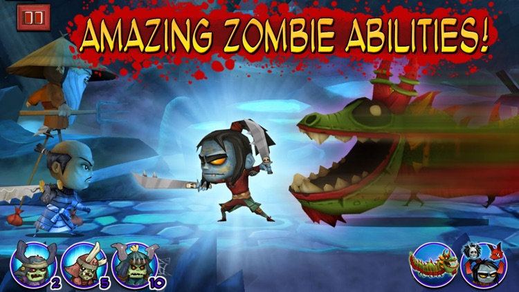 Samurai vs Zombies Defense screenshot-4