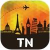 チュニジア オフラインマップ、ガイド。ホテル、天候、旅行 ジェルバ島,モナスティール,ハンマメット,Zarzis