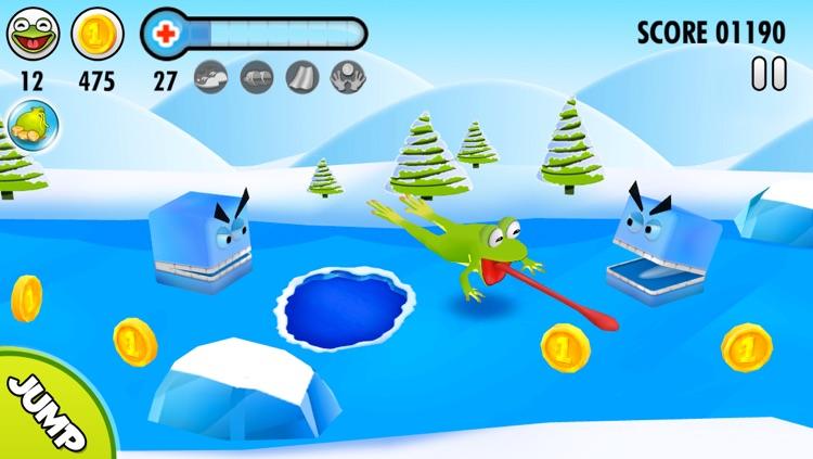 Frog on Ice