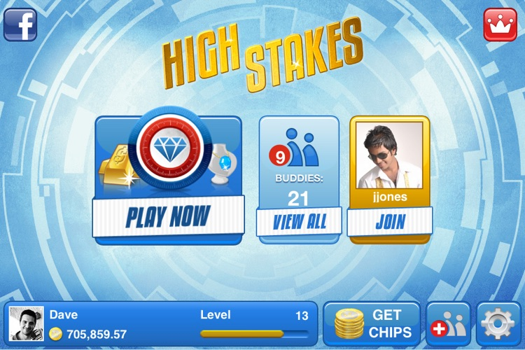 High Stakes Slots by Yazino screenshot-4