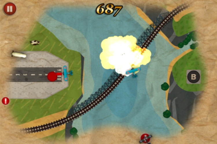 Red Baron's Revenge screenshot-4