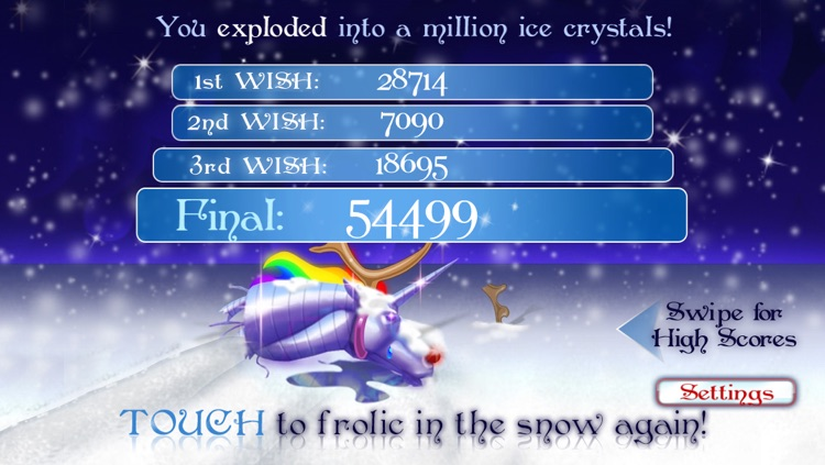 Robot Unicorn Attack Christmas Edition screenshot-4