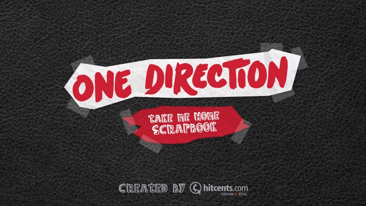 One Direction Scrapbook