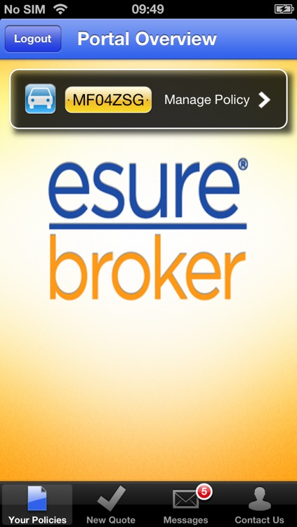 esure brokers My Account