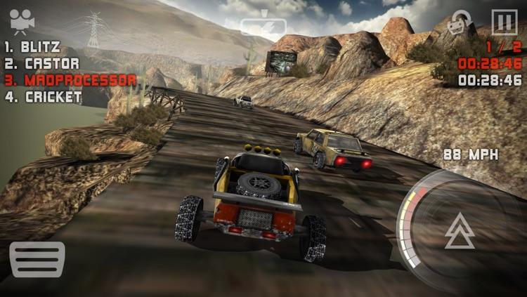 Uber Racer 3D - Sandstorm screenshot-3