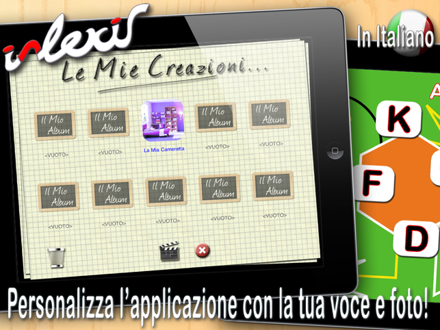 i-Lexis HD (in Italiano) - App per i problemi del linguaggio Screenshot