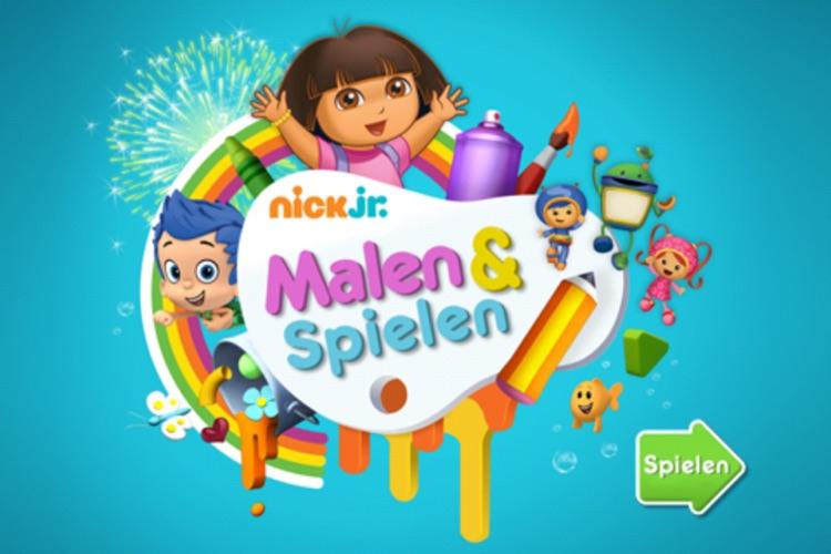 Nick Jr. Malen & Spielen