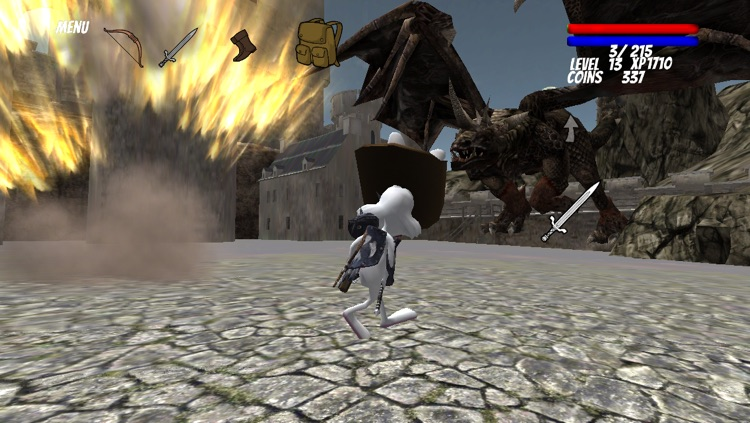 A Lonely Bunny RPG screenshot-3