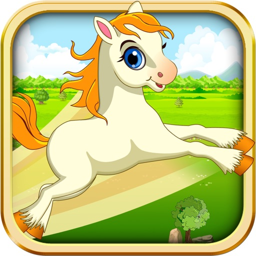 Baby Horse Bounce - My Cute Pony and Little Secret Princess Fairies icon