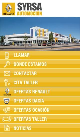 Renault Syrsa Automoción screenshot one
