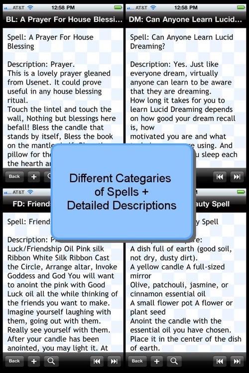 White Magic Spell Directory