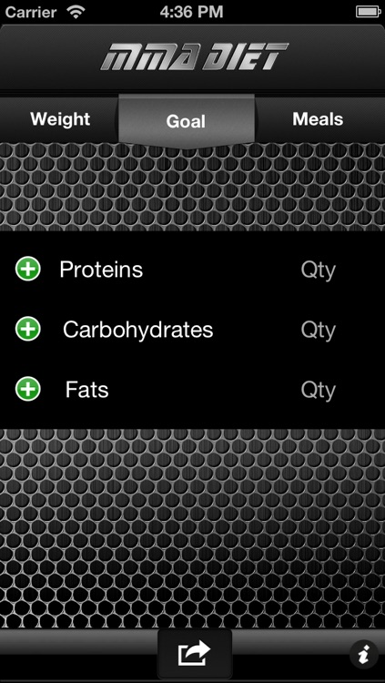 MMA Diet screenshot-0
