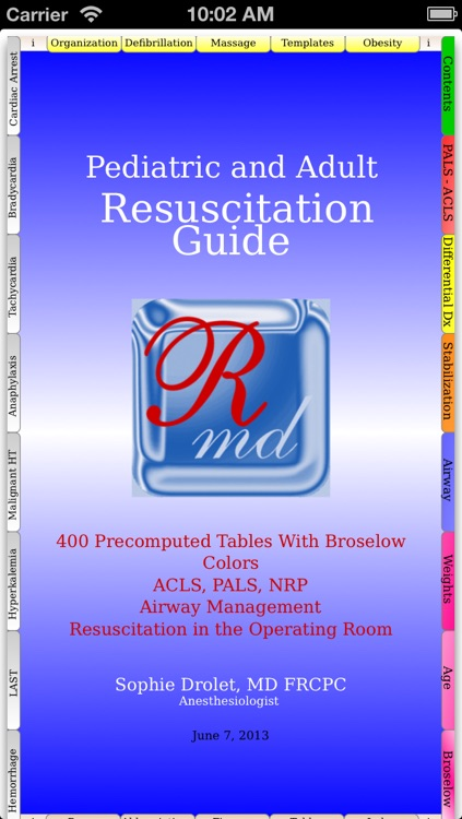 Pediatric and Adult Medical Resuscitation Guide
