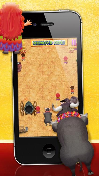 Bulls Running with Revenge LITE - FREE Game! screenshot-3