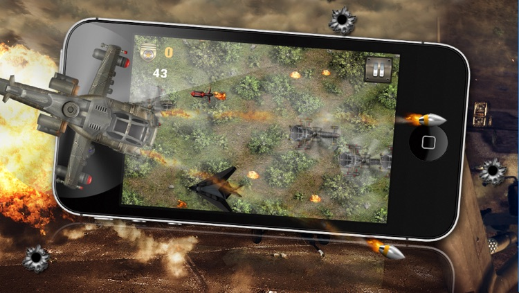 Angry Battle Choppers - A Helicopter War Game! screenshot-3