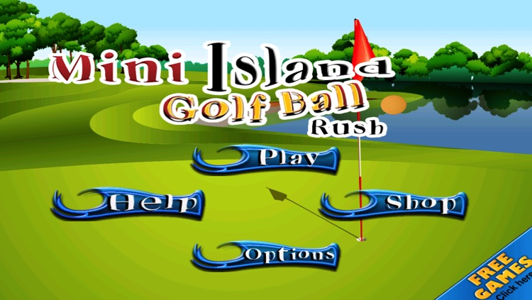 Mini Island Golf Ball Rush - Full Version screenshot-3