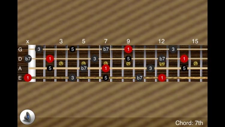 FretBoard LE: Chord, Scale, Note & Mode on Guitar, Bass, Ukulele, Banjo, Violin & stringed instruments screenshot-3