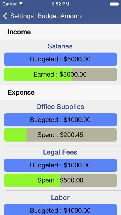 Expense Tracker & Easy Budget screenshot-4