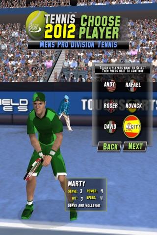 TouchSports Tennis 2012のおすすめ画像4