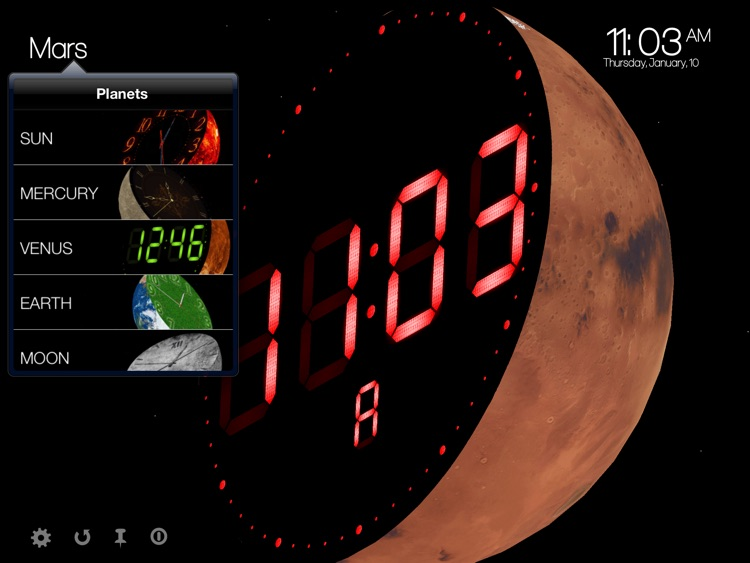 Planet Clocks 3D screenshot-3