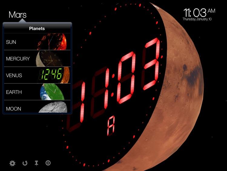 Planet Clocks 3D screenshot-3
