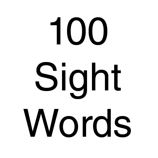 100 Sight Words