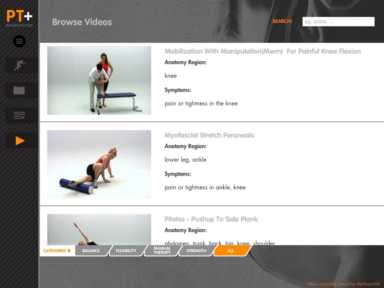 Physical Therapist Plus – Exercise Videos for Rehabilitation Professionals screenshot-4