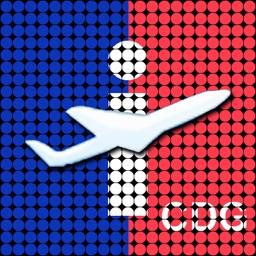 Paris-CDG Airport - iPlane2 Flight Information