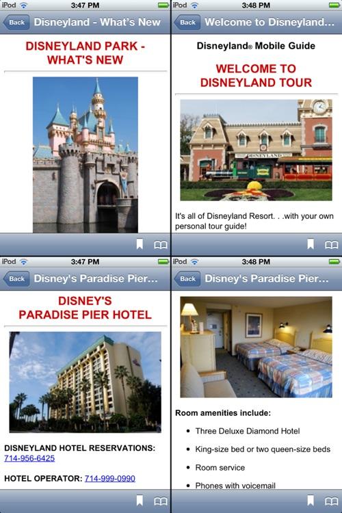 Disneyland Mobile Guide screenshot-3
