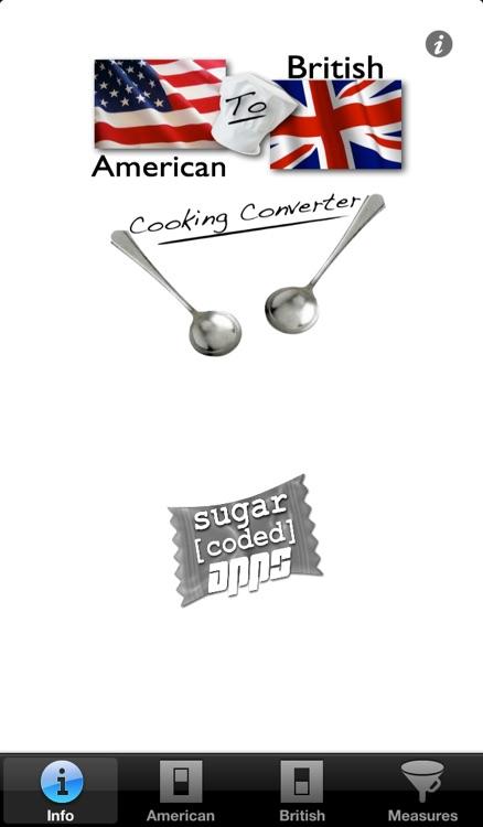 British/American Cooking Converter